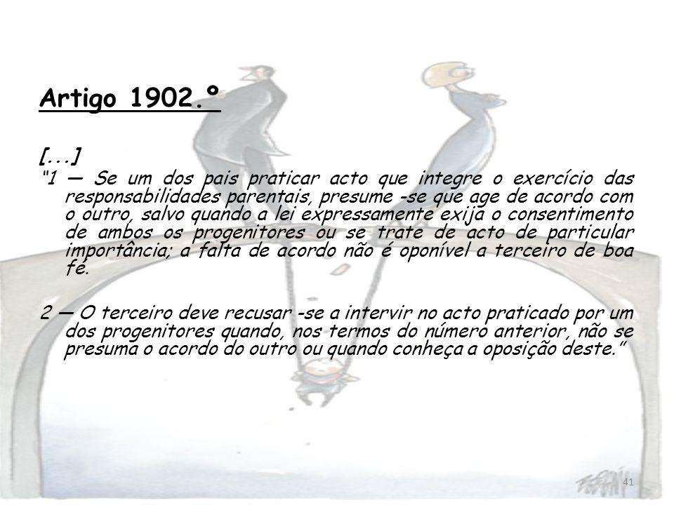 Artigo 1902.º[...]